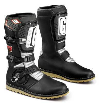 Gaerne Balance TRIAL Boots Black/White