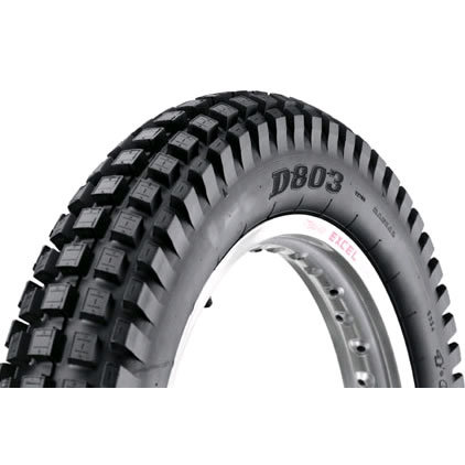 Dunlop D803 400 x 18 Rear Trials tyre