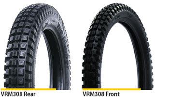Vee Rubber 400 x 18 Rear Trials tyre