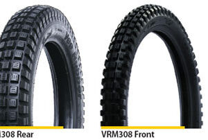 Vee Rubber 3.50 x 17 Rear Trials tyre