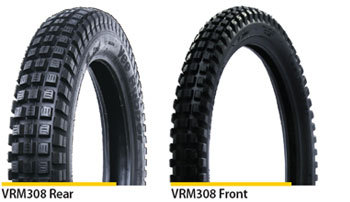 Vee Rubber 3.50 x 17 Rear Trials tyre