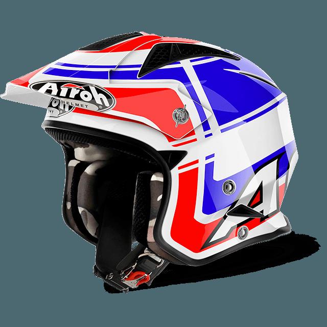 AIROH TRR Trial Helmet Wintage Blue